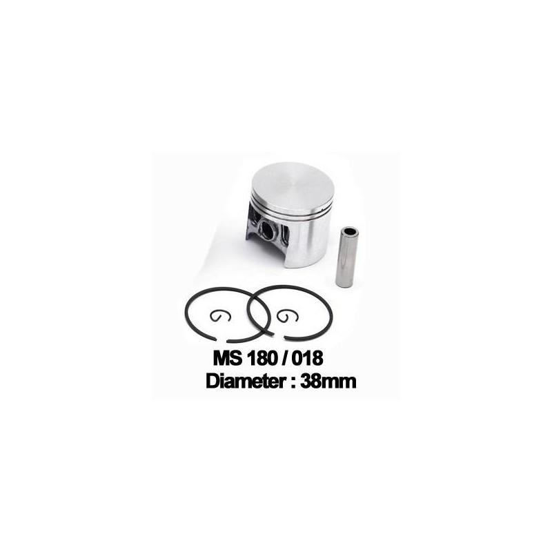 Piston + segmenti Stihl MS 180 38mm