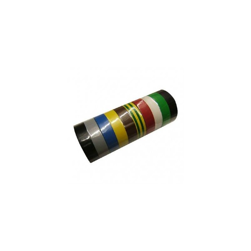 BANDA IZOLATOARE ATESTATA MULTICOLOR 19X0.15MM / 20M