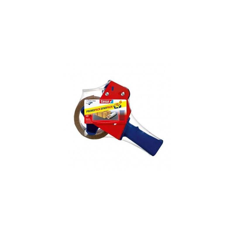 Dispenser cu banda adeziva pentru ambalare 48mm/66mm + banda cadou