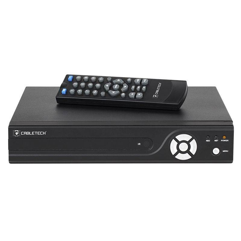 NVR 4 CANALE CABLETECH 4P