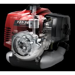 Motocoasa Kawasaki TJ53E-X800 3 CP 2.24 kW pe benzina, Profesionala, ulei 2T IPONE + tub vaselina