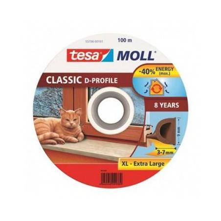 ROLA PROFIL ETANSARE TIP-D - 9MM/100M / ALB TESA