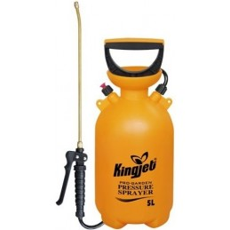 Pompa de stropit cu presiune lance cupru Kingjet 5 litri Vermorel