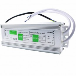 Alimentator banda led 12V 8.3A 100W IP67 de exterior