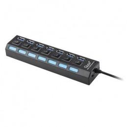 HUB USB 3.0 7 PORTURI QUER PRO