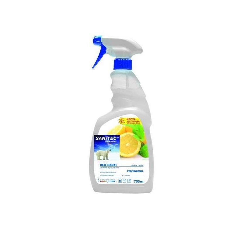 DEO FRESH Menta e Limone odorizant ambiental antibacterian - 750ml