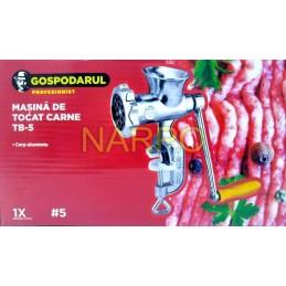 Masina de tocat carne nr 5 aluminiu manuala