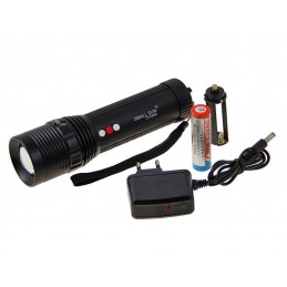 Lanterna LED CREE Q5 Small Sun ZY-F504R mod SOS lumina ALBA / ROSIE