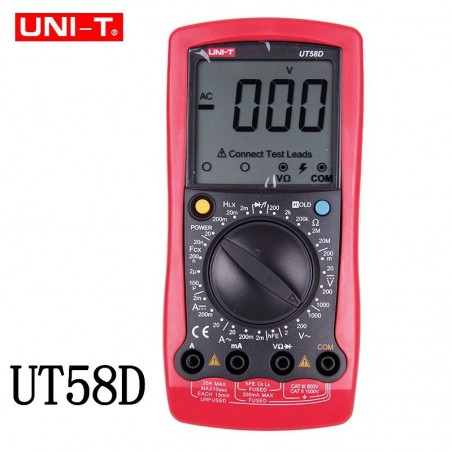 MULTIMETRU UT58D, UNI-T, MIE0064