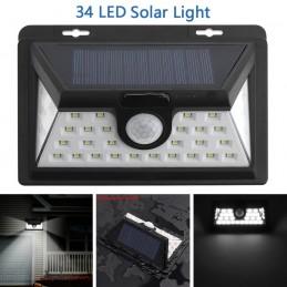 Proiector LED Solar cu senzor de miscare 34 LED SMD IP65