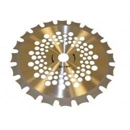 Disc circular cu dinti vidia dublu sens 250x25.4x40T pentru iarba