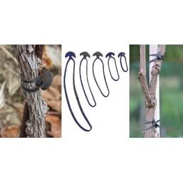 Banda de legat cauciucata elastica reutilizabila 5cm 1kg (864buc)