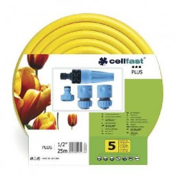 "SET COMPLET FURTUN APA PLUS 1/2"" / 25M CELLFAST"