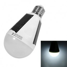 Bec LED cu panouri solare 7W IP65 E27