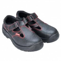 Sandale din piele cu bombeu metalic marime 39-47