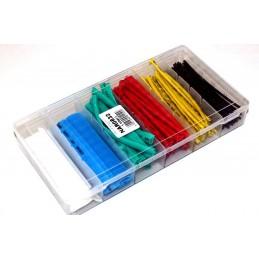 Set tub varnis 100 buc x 100mm Ø 1.5-13mm diverse culori