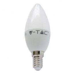 BEC LED E14 6W 2700K ALB CALD tip lumanare