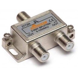 Splitter TV de interior 2 cai Signal R-2 3,2 dB, 5-1000 MHz