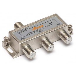 Splitter TV de interior 3 cai - Signal R-3 5,2 dB, 5-1000 MHz