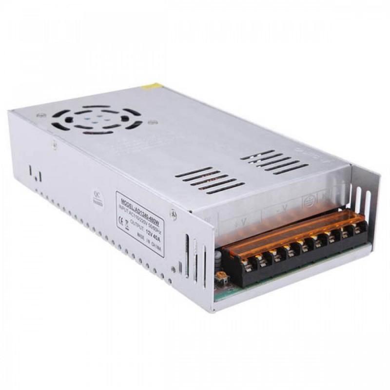 Sursa alimentare 12V 40A 480W cu ventilator