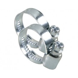Colier metalic cu surub pentru furtun 10-16mm, 3/8 inch, GEKA, 2 buc
