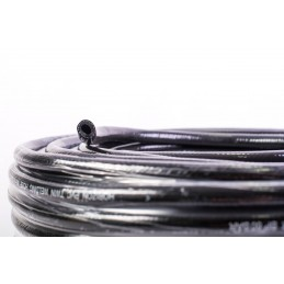 Furtun gaz cu insertie, negru, 9mm - 1 metru
