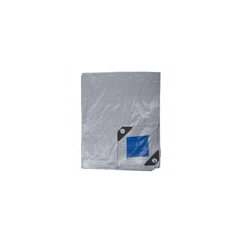 Prelata impermeabila rezistenta UV, 4x5 metri, 110 g/mp, inele de prindere, Proline, 46445