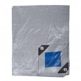 Prelata impermeabila rezistenta UV, 6x10 metri, 110 g/mp, inele de prindere, Proline, 46461