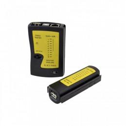 Tester cablu UTP RJ45 USB A, USB B