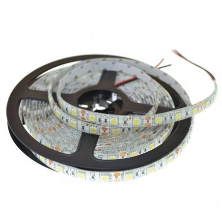 ROLA BANDA LED 5050 LED ALB RECE 300 LEDURI - 5 METRI IMPERMEABILA