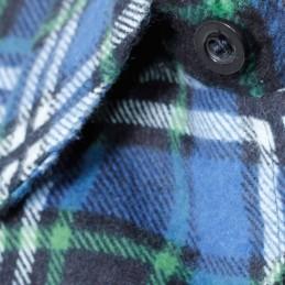 Camasa flanel cu carouri albastra Lahti Pro S-2XL