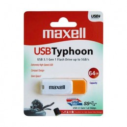 FLASH DRIVE 64GB USB 3.1 TYPHOON MAXELL