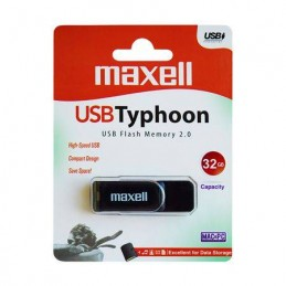 FLASH DRIVE 32GB USB 2.0 TYPHOON MAXELL