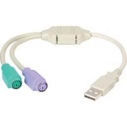 CABLU ADAPTOR USB LA PS2