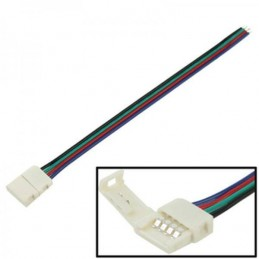 Conector flexibil banda led 5050 RGB 4 fire cu clips