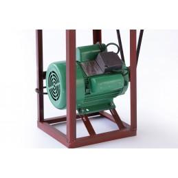 Masina de tocat carne 32 cu motor electric 1400rpm 1.5kw fonta