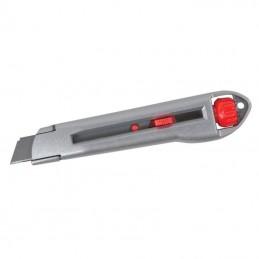 Cutter metalic demontabil rapid cu autoblocare lama 18mm Proline
