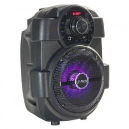 Boxa portabila iluminata LED 6.5 inch, 16cm 60W RMS USB/SD/BT/FM