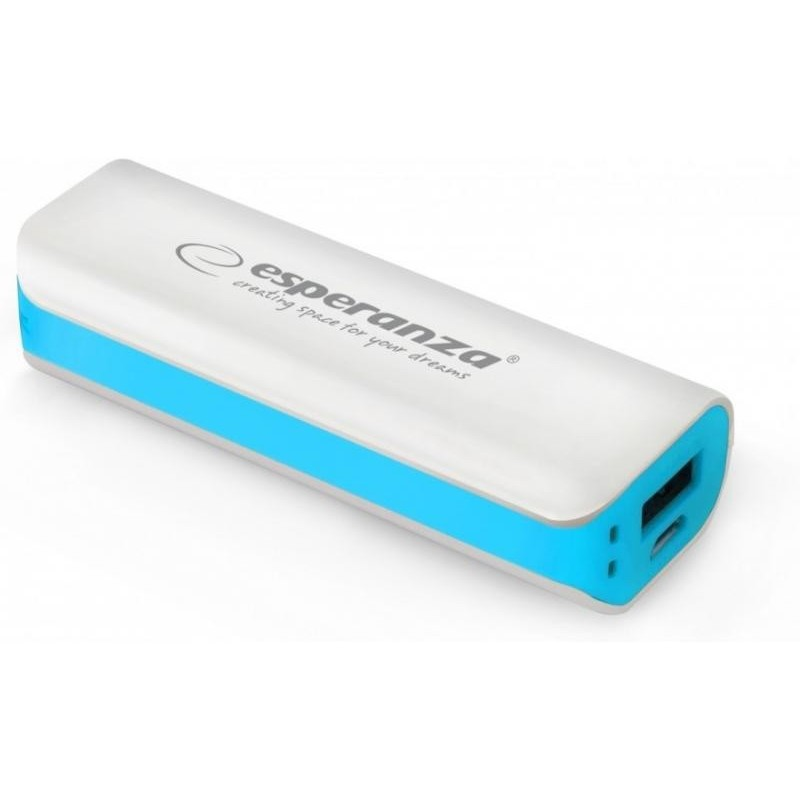 Power bank 2200mAh JOULE ESPERANZA USB 5V 1A