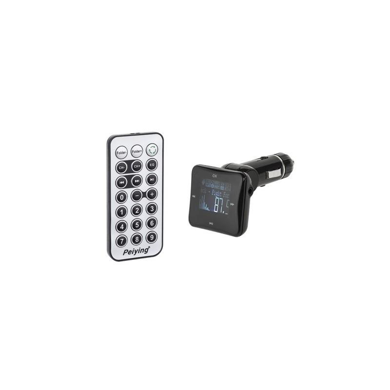 Modulator FM RDS auto display 1.4 INCH USB max 16GB Peiying 3.5mm Jack