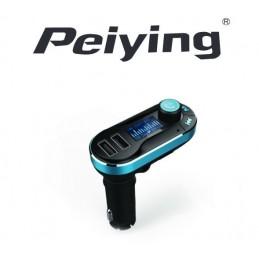 Modulator FM auto display 1.4 INCH DUAL USB Bluetooth Peiying