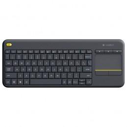 Tastatura Wireless LOGITECH Touch K400 Plus, negru