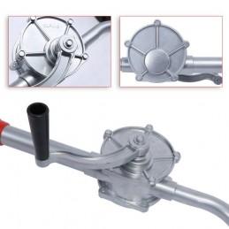 Pompa manuala rotativa transfer lichide, diametru 32mm, 130cm, butoaie 220l, bidoane etc.