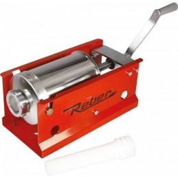 Masina de umplut carnati manuala REBER 8952N, capacitate 3 kg
