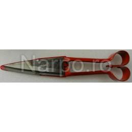 Foarfeca de tuns oi forma tip inima, calcatoare 32 cm