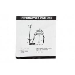 Pompa de stropit manuala, 5 litri, Pandora, model 2019