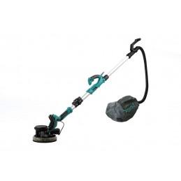 Slefuitor pentru pereti, pliabil, cu aspirator si LED 750W Ø225mm, DeToolz