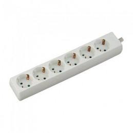 Prelungitor 6 cai, 3M, (3G1.5MM2) alb, V-TAC, SKU-8761