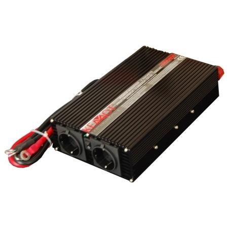 Invertor auto Kemot URZ3169, 12V/230V, 1000W, 2 iesiri