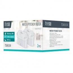 Set 2 filtre pentru cana filtrare apa, TSA0104, TEESA